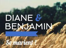Diane et Benjamin