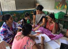 UNIFORM PROJECT : helping 5 women of one of the poorest slum of Pune ,India