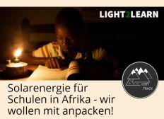 Solarenergie für Schulen in Afrika - wir wollen mit anpacken!