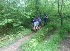 Anna's new wheelchair