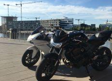Geklautes Motorrad