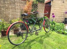 Cirencester to Amsterdam on a 90 Year Old Tandem
