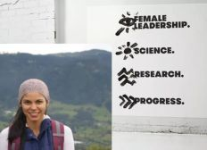 Support female leadership in science!