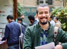 Abdel's Master degree at TU Berlin