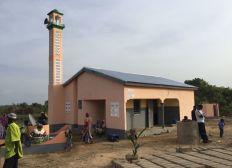 Construction mosquée