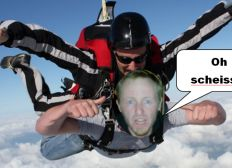 Reach for the Sky: Tandem parachute jump for Berlin Homeless Project