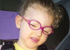 Le sourire d alicia (polyhandicapee et mignonne a croquer)