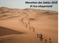 Marathon des Sables  2018 et éco-citoyenneté