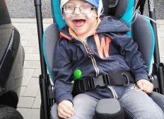 Behindertengerechtes Familienauto für Fabio