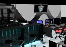 """Projet de bar Gaming Esport """"Le Python Noir"""""""