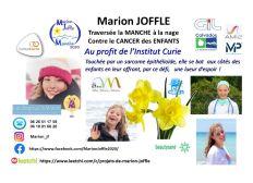 Marion JOFFLE : La Manche à la NAGE contre le CANCER