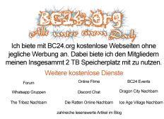 Unterstützen Sie BC24.org