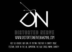Distorted Nerve UK Charity Concert in support of The Blue Cross
