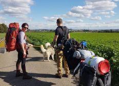 CASA - Grenzenlose Heimat, eine Reise zu Fuß mit Hunden