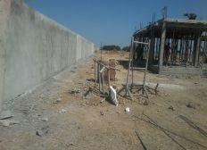 Construction du nouveau refuge de la PAT