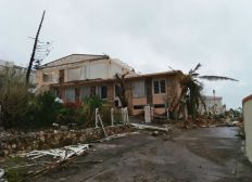 Hurricane Irma Wiederaufbau Peridot Road, Sint Maarten