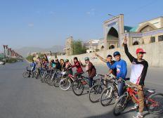 Drop and Ride - Fahrräder für die Jugend Kabuls!