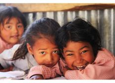 Wiederaufbau der Budland Schule in Nepal