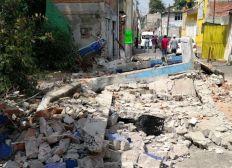 Hilfe für den Aufbau in Mexiko Stadt nach dem Erdbeben