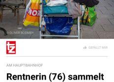Anna Leeb 2000 € Geldstrafe wegen Flaschensammlung