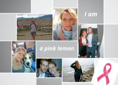 I am a pink lemon!