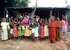 Construction d'un nouvel orphelinat au Sri Lanka