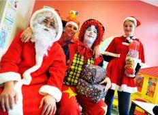 Le Noël des enfants hospitalisés