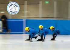SHORTTRACK IN DRESDEN