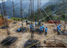 Bau von erdbebensicheren Schulen in Nepal