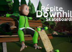 Pepite Downhill Skateboarding