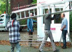 Wohncontainer für Hamburger Obdachlose aufstellen