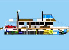 Projekt-Wohnboot