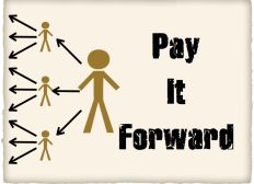 Help in our motion Pay it forward