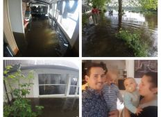 Inondations 2016 restaurant la braise