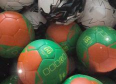 Jeunes handballeurs et handballeuses