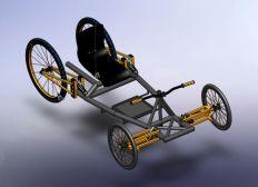 [Projet BAC] Vélo de descente pour handicapés