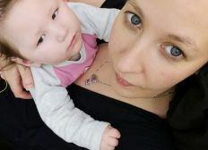 Maëlyne sont combat une vie la sienne