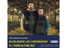 Accélérons les conversions à l'agriculture bio