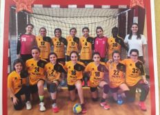 Tournoi handball à Barcelone des -13 ans de l asc beziers