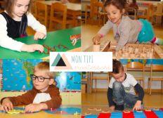 Salle d'activités périscolaires Montessori pour les enfants de 4 mois à 8 ans