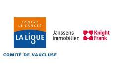 """Janssens Immobilier s'engage pour """"La Ligue contre le Cancer du Vaucluse"""""""