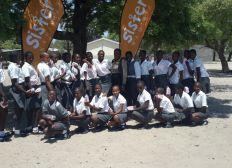 Spende: Produktion und kostenlose Verteilung von SisterPads an namibische Schulmädchen