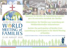 World Meeting of families 2018 in Dublin