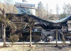 Une famille a tout perdu dans l'incendie de La Coulée