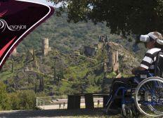 Visites de lieux touristiques pour les personnes handicapées.