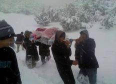 Sinistrés de la neige Atlas-Maroc 2018