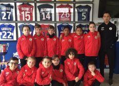 Équipe de foot des petit de 10ans