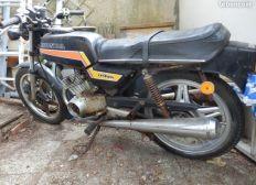 Sauvetage ancienne moto 125 cb Honda