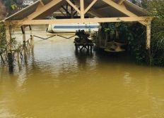 Suite à l'inondation de chez Monsieur Mallard