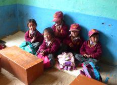 Aide à la reconstruction d'une école et la scolarisation des enfants du Zanskar HOKA